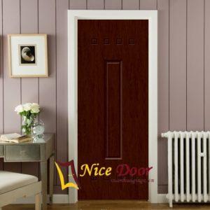 Giá trọn bộ cửa nhựa gỗ Sungyu bao gồm: cánh + khung bao + nẹp chỉ + sơn hoàn thiện.