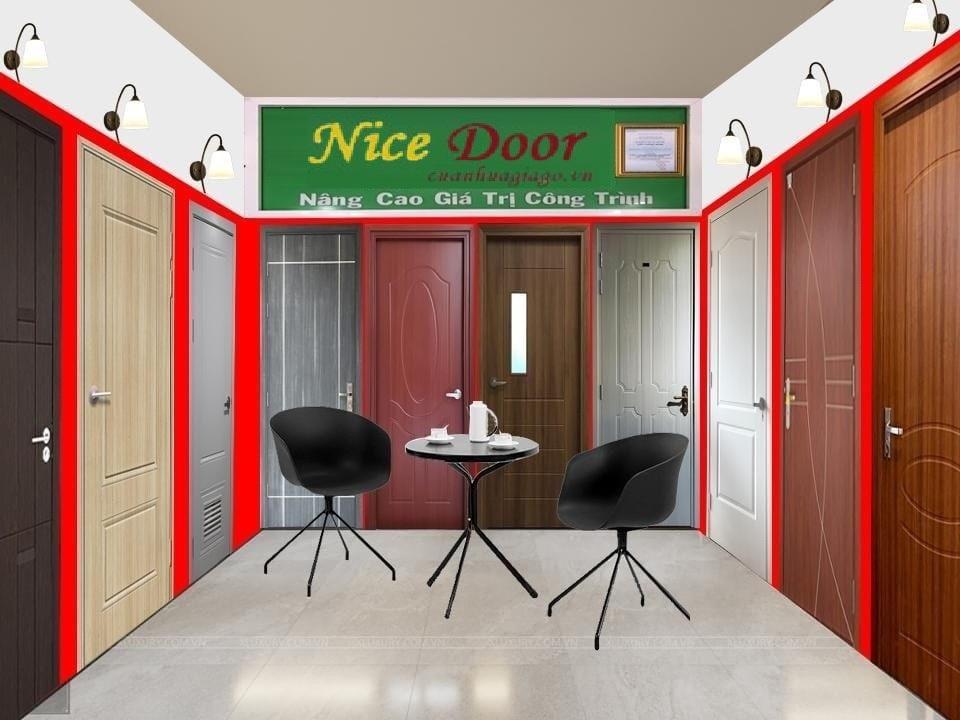 showroom cửa nice door