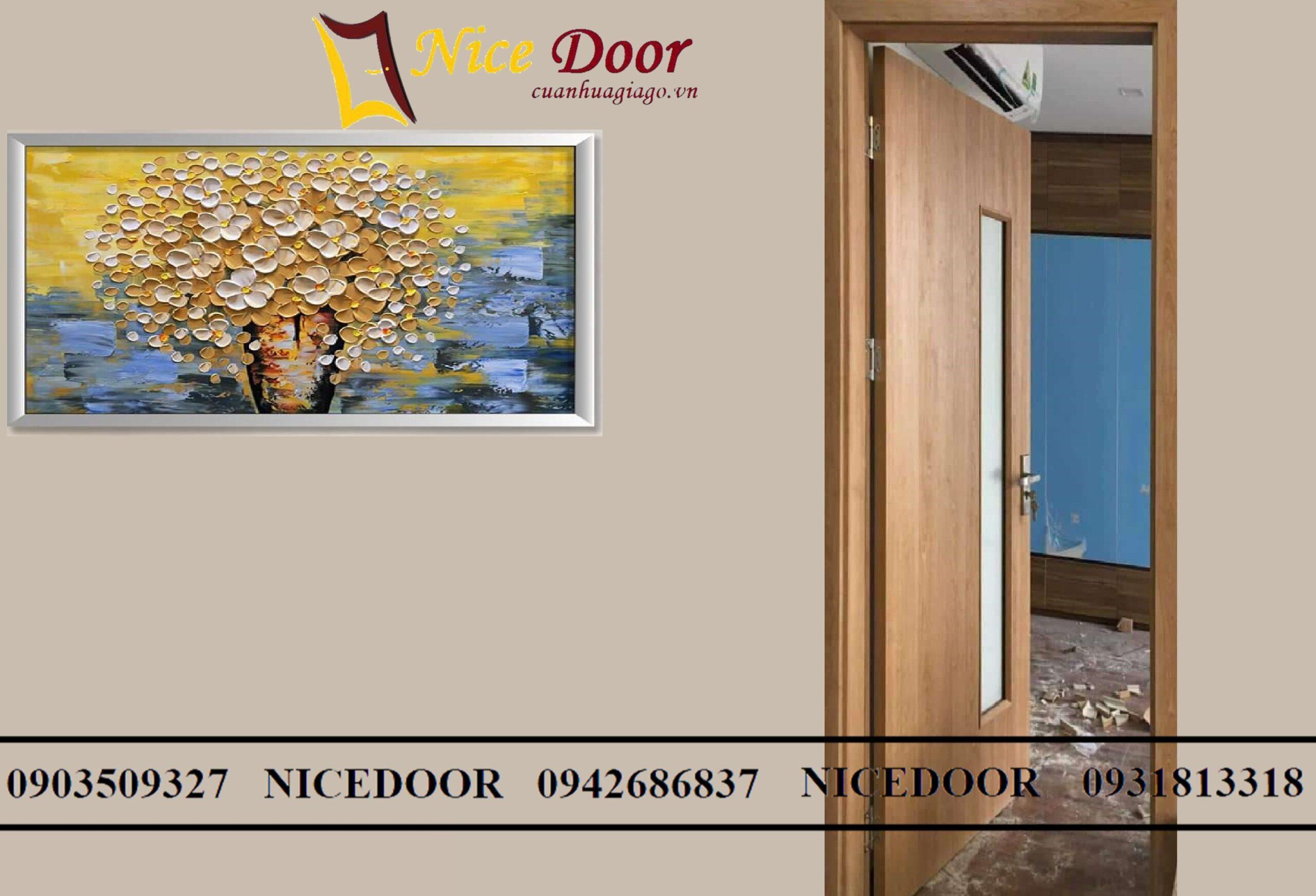 cửa-gỗ-công-nghiệp-mdf-có-ô-kính