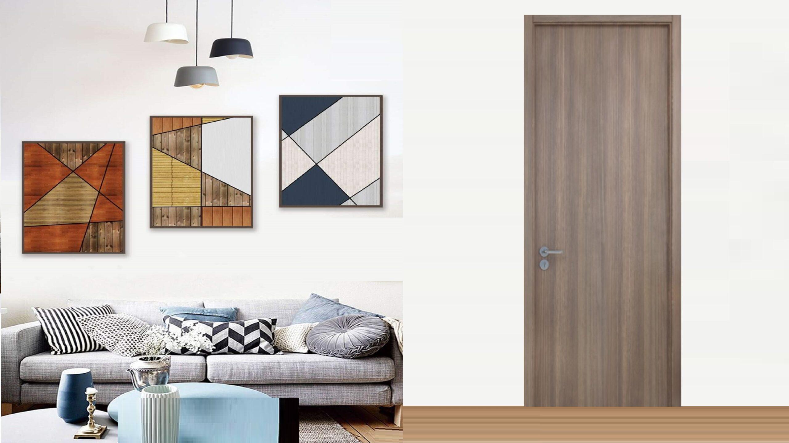 cửa-gỗ-mdf-melamine-giá-rẻ